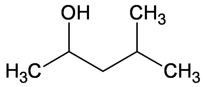 Isobutylmethylcarbinol - Paramètre chimique