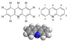 Acridine - Paramètre chimique