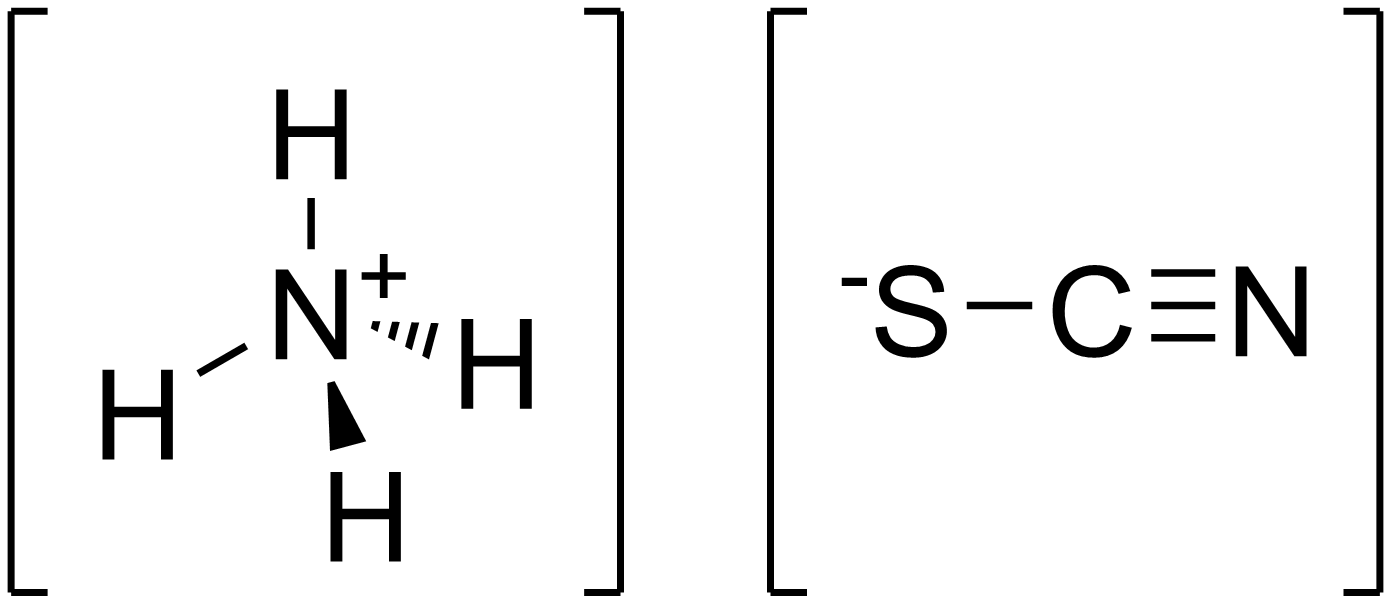 Thiocyanate d'ammonium - Paramètre chimique