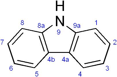 Carbazole - Paramètre chimique