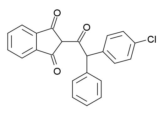 Chlorophacinone - Paramètre chimique