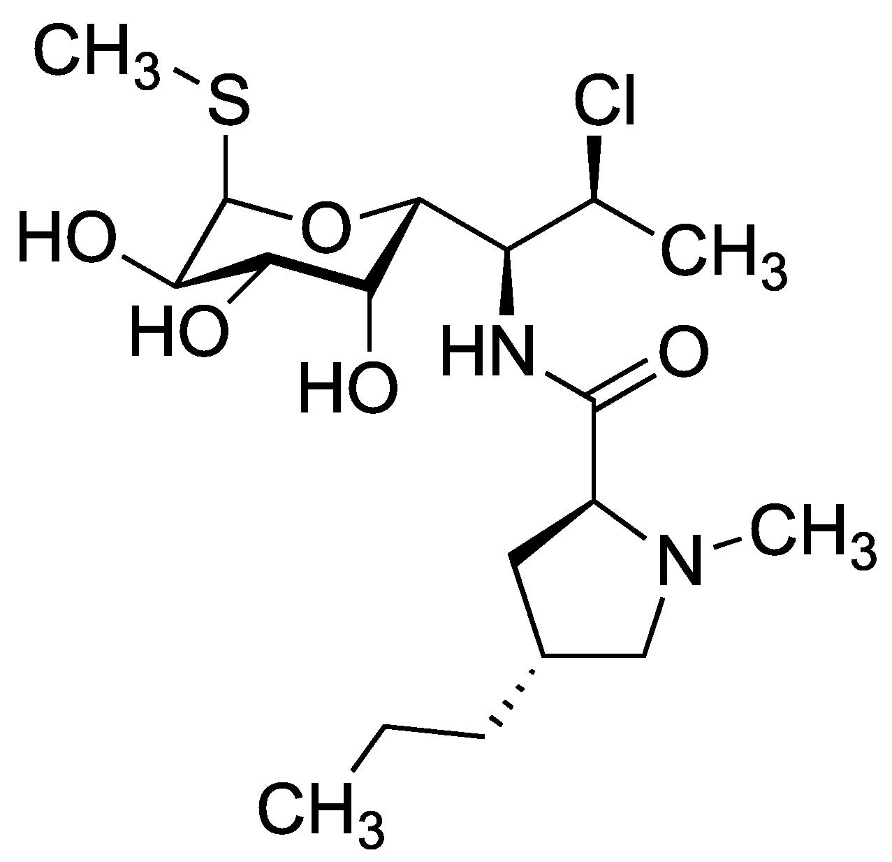 Clindamycine - Paramètre chimique