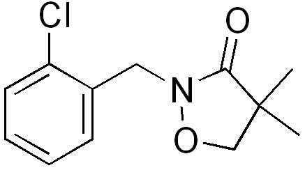 Clomazone - Paramètre chimique