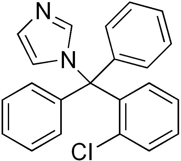Clotrimazole - Paramètre chimique