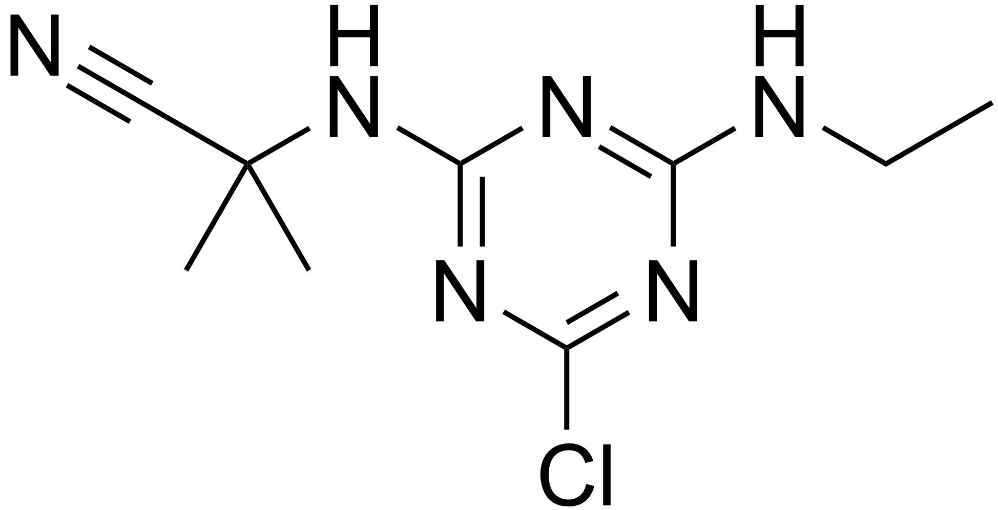 Cyanazine - Paramètre chimique