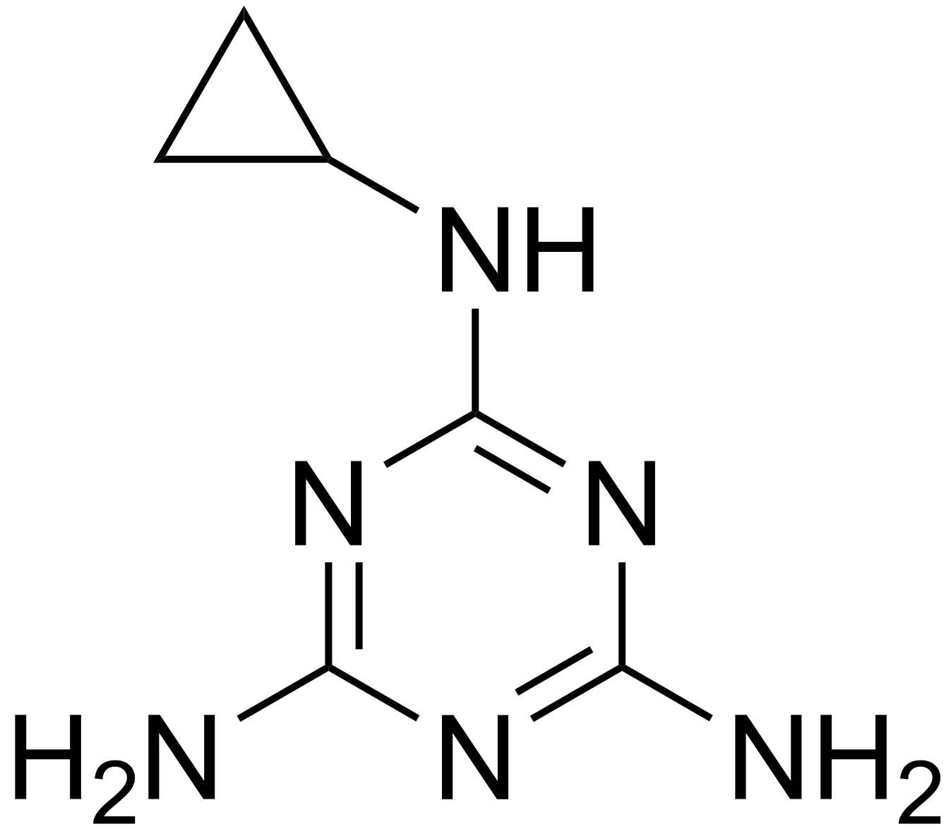 Cyromazine - Paramètre chimique