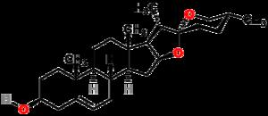 Diosgenin - Paramètre chimique