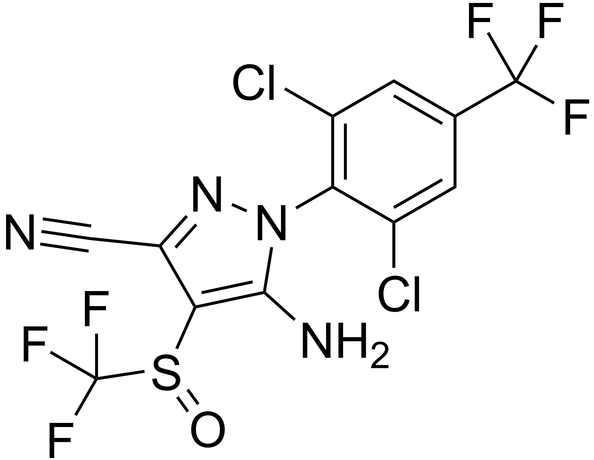 Fipronil - Paramètre chimique