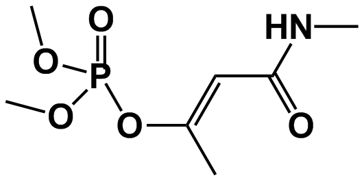 Monocrotophos - Paramètre chimique