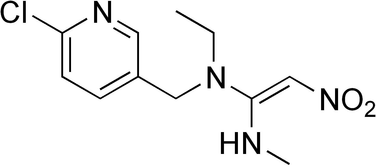 Nitenpyrame - Paramètre chimique