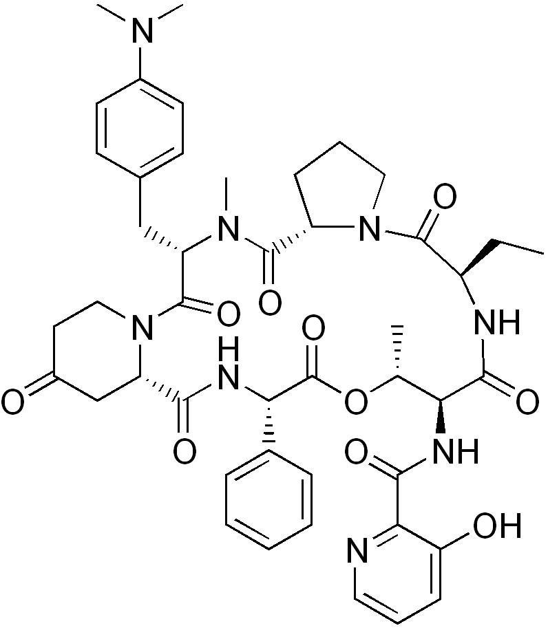 Pristinamycine - Paramètre chimique