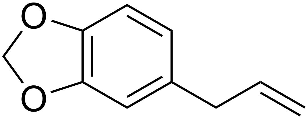 Safrole - Paramètre chimique