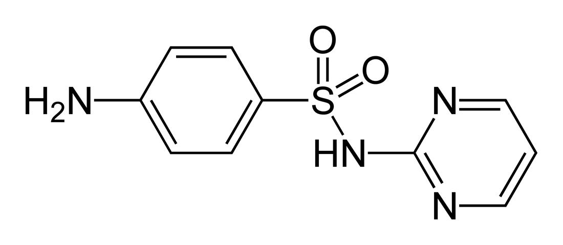 Sulfadiazine - Paramètre chimique