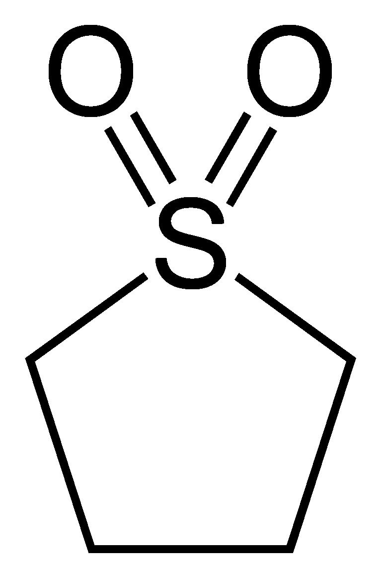 Sulfolane - Paramètre chimique