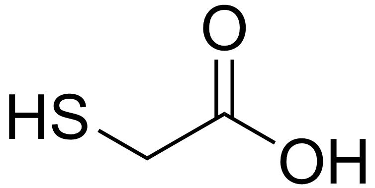 Acide thioglycolique - Paramètre chimique